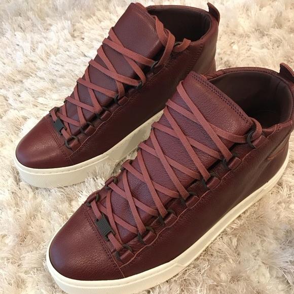 7a8567411f0a Balenciaga arena high top - thick sole sneaker